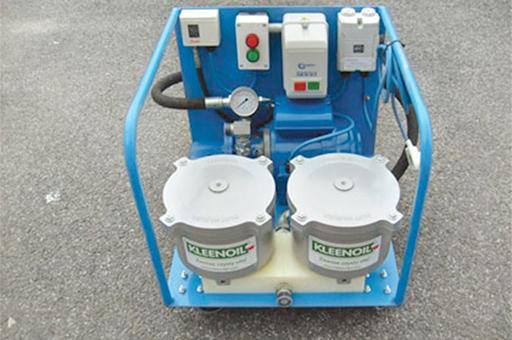 maszynowa filtracja oleju